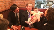 Nobody puts Enda in the corner during an election campaign