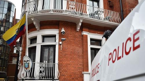 Julian Assange has been living in the Ecuadorian embassy in London since 2012