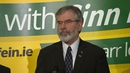 The boost for Sinn Féin comes as the party faced much criticism from opponents over its stance on non-jury courts