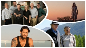 Clockwise from top left: Spotlight, Strangerland, Youth, Point Break