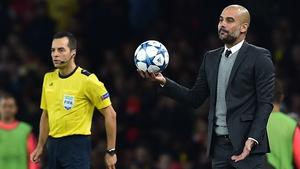 Pep Guardiola returns to Barcelona on Wednesday