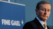 Enda Kenny's Fine Gael is up in the Red C poll and down in the Behaviour & Attitudes poll
