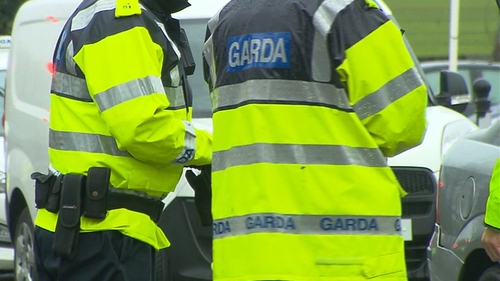 Gardaí said the refugees are being processed by immigration