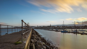 West pier at Dún Laoghaire harbor (Pic: Bernard Geraghty)