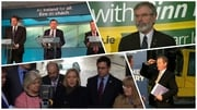 There were several launches today, while Sinn Féin accused its rivals of false promises
