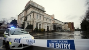 The incident happened at the Regency Hotel in Dublin at 2.30pm yesterday afternoon