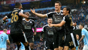 Robert Huth bagged two Leicester goals