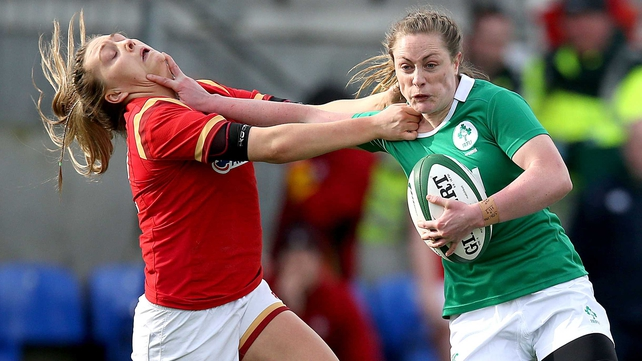 Ireland Women won by 18 points