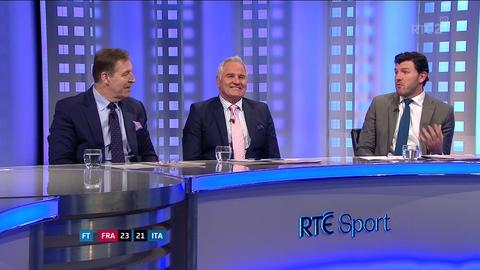 RBS 6 Nations Extras: Pope, Horgan & Lenihan on France v Italy