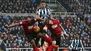 Mitrovic gives Newcastle crucial survival boost