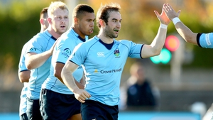 Tom Fletcher managed an intercept try for UCD