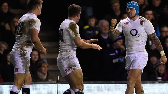 England overcome Scots in dour Murrayfield battle