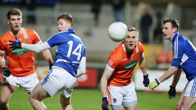 Laois hold off Armagh fightback