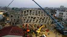 At least 23 people are known to have died in the quake, which struck at about 4am yesterday