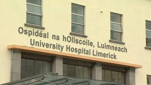 The woman was taken to University Hospital Limerick following the crash on Friday