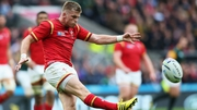 Gareth Anscombe will be replaced by Liam Williams in the Wales side