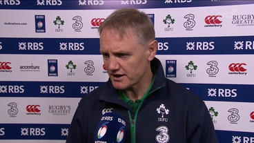 Schmidt hails 'vulnerable' Ireland side