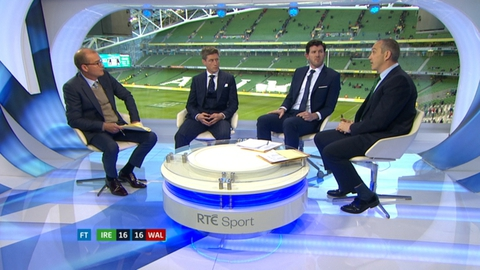 RBS 6 Nations Extras: Horgan, O'Gara and O'Shea on Ireland v Wales