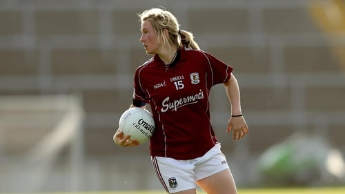 Tracey Leonard made her return for Galway in their win over the Kingdom