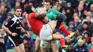 Keith Earls is likely to miss the clash with France