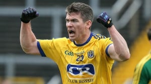Sean Purcell celebrates at the final whistle