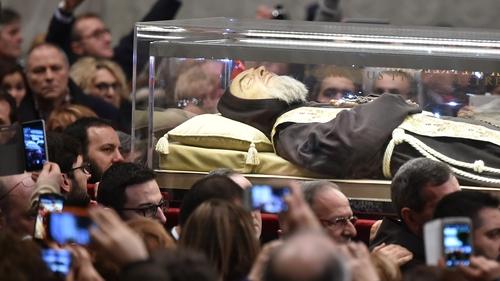 Padre Pio is popular in Ireland