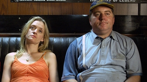 "Anne-Marie Duff and Pat Shortt in Lenny Abrahamson's Garage, one of the ""the most memorable and enduring Irish films of the Irish Film Board"""