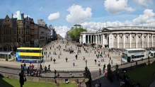 The changes would allow unhindered pedestrian access from St Stephen's Green to the south quays