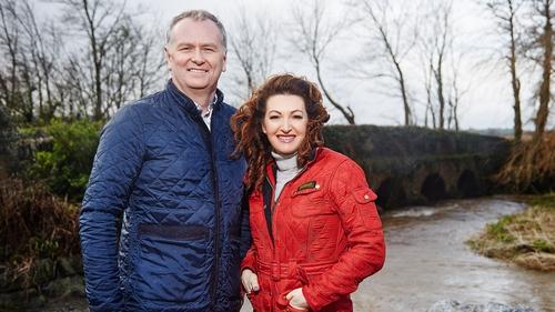 Dáithí O'Sé and Maura Derrane