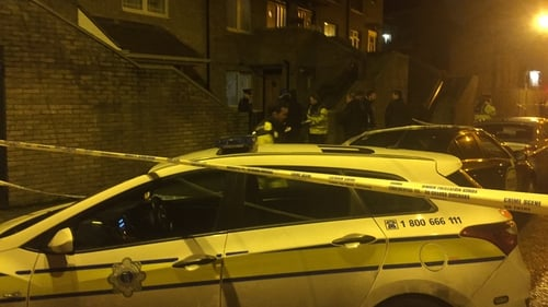 The shooting happened at Poplar Row in Ballybough at 7.45pm