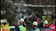 One News Web: Nine people killed and more than 100 injured in German train crash