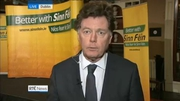 One News Web: Political Correspondent David Davin Power on Sinn Fein's election manifesto