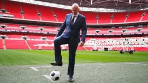 Gianni Infantino has got the vote of the Football Association of Ireland