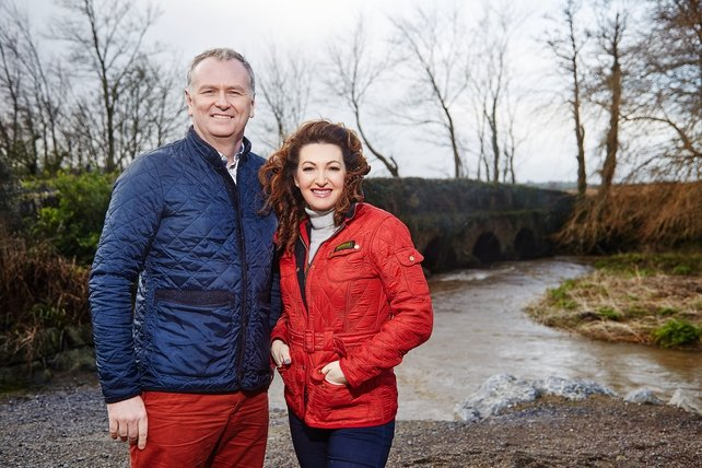 Dáithí and Maura launched the Village with Vision campaign on RTÉ One's Today