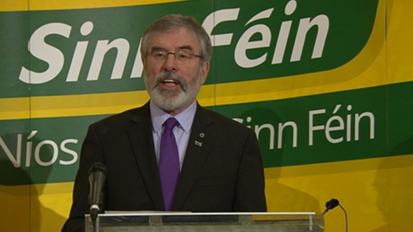 The rise in support for Sinn Féinhas come on a week when the party faced criticism over its stance on non-jury courts