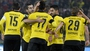 Dortmund fans delay tie with tennis-ball protest