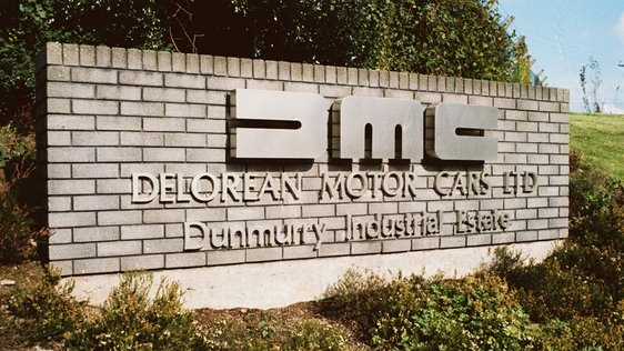 DeLorean manufacturing plant in Belfast
