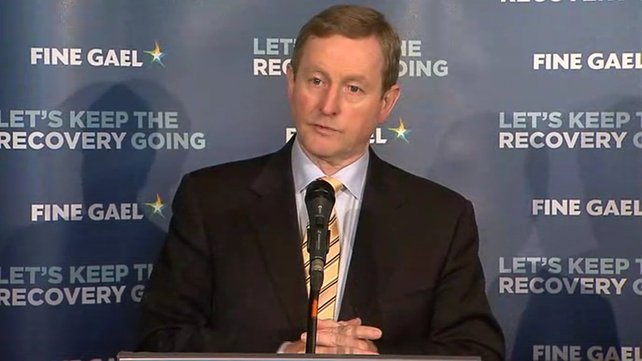 Enda Kenny criticised the previous Government for closing the garda training college Templemore