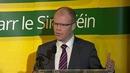 Peadar Tóibín said he took the decision'with a heavy heart'
