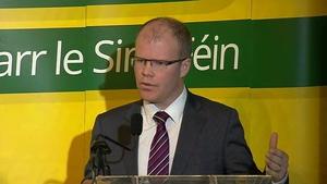 Sinn Féin's Peadar Tóibín finds the housing crisis 'scandalous'