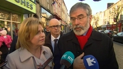 Gerry Adams say it's ironic that Sinn Féin are being accused of being populist when other parties are seizing on the shooting of two people