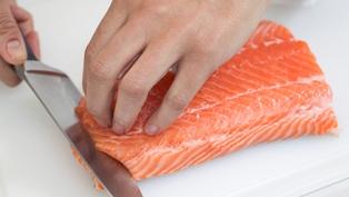 Crispy Salmon, Pomegranate, Couscous: Neven