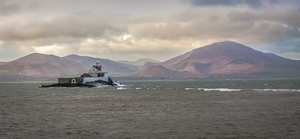 Fenit Lighthouse at Fenit, Co Kerry (Pic: Breda Canty)