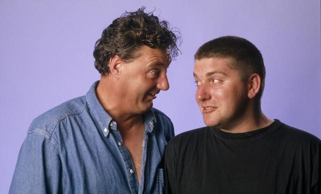 Jon Kenny and Pat Shortt (circa 2000)