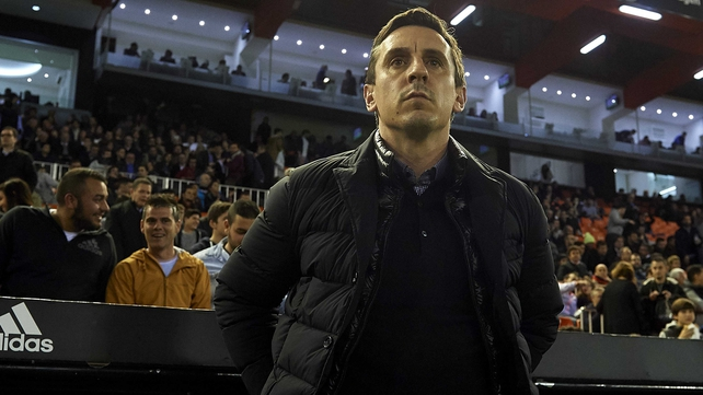 Neville thanks Valencia for playing 'with dignity'