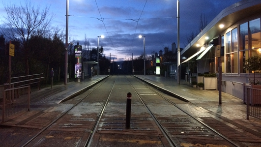 Luas commuters lose patience with drivers