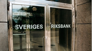 Sweden's Riksbank points to no interest rate changes in the coming years