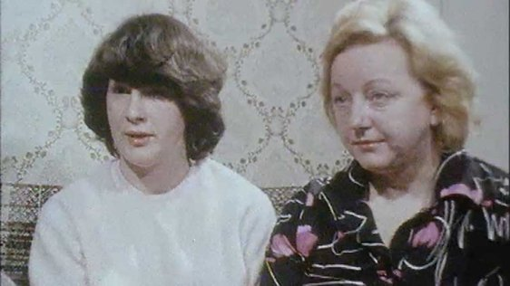 Liz and Teresa Marley in 1981