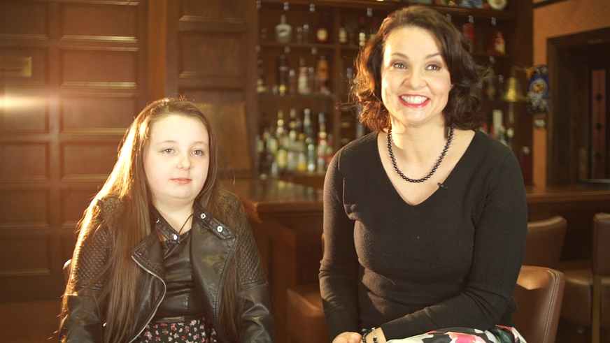 Fair City Extras: Heather and Ellie Interview