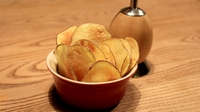 Homemade, Microwavable Crisps: Ready in 5 mins